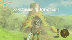 Sanctuaire de Ruyo'Tahu BOTW