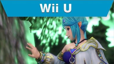 Wii U -- Hyrule Warriors Trailer avec Lana et le Drageon
