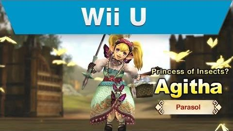 Wii U -- Hyrule Warriors Trailer with Agitha and a Parasol-0