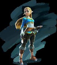 BoTW-Zelda