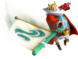 Hyrule Warriors Legends King Daphnes Nohansen Hyrule Sail (Render)