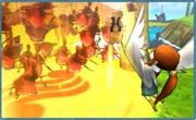 Hyrule Warriors Legends Rito Harp Mark of Din (Combo)