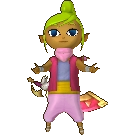 Hyrule Warriors Legends Tetra Standard Outfit (Wind Waker - Toon Zelda Recolor)