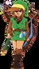Link équipé LoZ