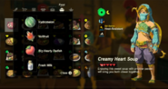 Breath of the Wild Food Dishes (Recipes) Creamy Heart Soup (1 Big Hearty Radish)