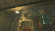 Breath of the Wild Selmie's Spot Royal Shield (Selmie's Cabin)