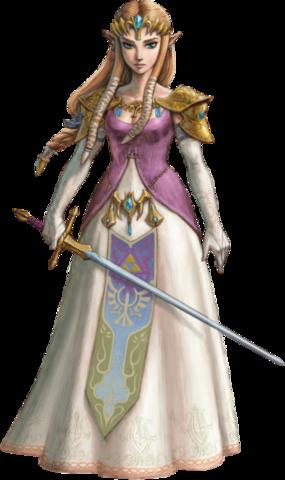 Файл:Twilight Princess HD Artwork Princess Zelda (Official Artwork).png