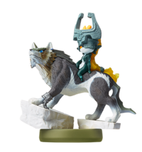 Amiibo Wolf Link and Midna TP