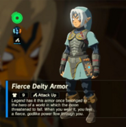 Breath of the Wild Fierce Deity Equipment (Body Armor) Fierce Deity Armor (Inventory)