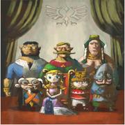 Cuadro Familia Real de Hyrule TWW