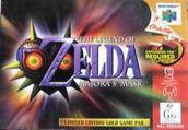 N64 Majora's Mask (Australische Verpackung)