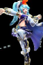 Hyrule Warriors Lana Artwork