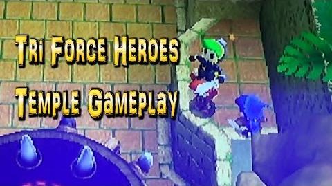 Legend of Zelda Tri Force Heroes - Temple