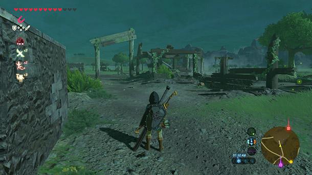 Zelda Breath Of The Wild Schrein Karte.Ranch Ruins Zeldapedia Fandom Powered By Wikia
