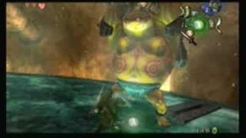Zelda Twilight Princess - Goron Mines Sub Boss (Three Hearts)