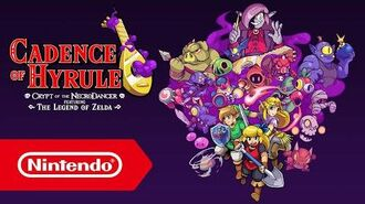 Cadence of Hyrule Crypt of the NecroDancer featuring The Legend of Zelda - Tráiler del E3 2019