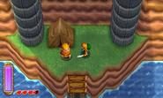 Link y el abuelo pajarero ALBW