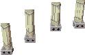 Pasamanos de pilares PH