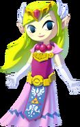 Princesa Zelda TWWHD