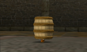 Hyrule Warriors Legends Toon Link Barrel (Battle Intro)