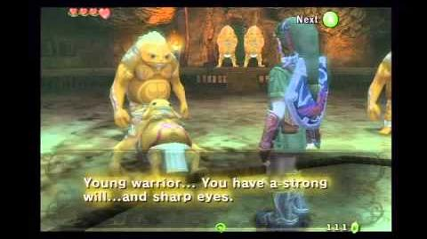 Sumo Match Agaist Gor Coron (Twilight Princess)