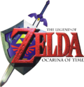 The Legend of Zelda - Ocarina of Time Logo