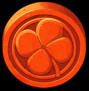 Artwork Piedra de la Suerte rojo