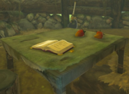 Breath of the Wild Woodcutter's Cabin Spicy Pepper & The Old Man's Diary (Great Plateau)