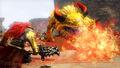 Ganondorf Luchando HW