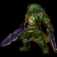 Hyrule Warriors Legends Ganondorf Standard Armor (Koholint - Mamu Recolor)