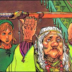 Impa in <i>The Legend of Zelda</i>