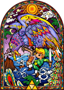 Link and the Helmaroc King
