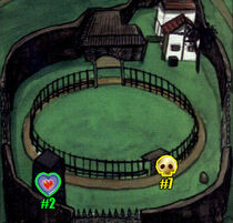 Mapa Rancho Lon Lon OoT 2