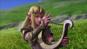 Zelda Lyre HW