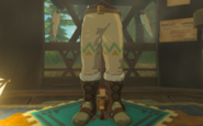 Breath of the Wild Brazen Beak Snowquill Trousers (Rito Village)