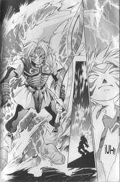 Fiera Deidad en el Manga