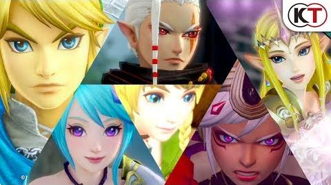 Hyrule Warriors Definitive Edition - Personnages Trailer 1-0