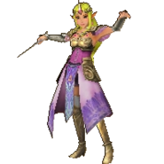 Hyrule Warriors Legends Princess Zelda Standard Robes (Great Sea - Toon Zelda Recolor)