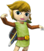 SSBB Link Cartoon Costume Classique