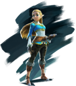 Zelda Artwork (Breath of the Wild)