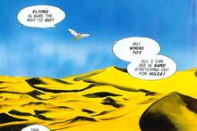 Desierto del Misterio ALttP (comic)