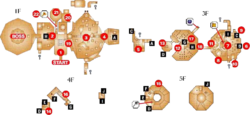 Fire Temple Map (Ocarina of Time)