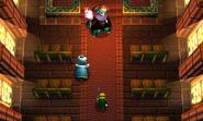 Link, Yuga y el sacerdote Santuario ALBW