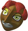 Masque Gerudo 3D