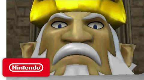 Hyrule Warriors Legends - King Daphnes' Trailer