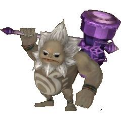 Hyrule Warriors Legends Darunia Standard Outfit (Grand Travels - Spirit Tracks Goron Elder Recolor)