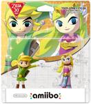 Link Cartoon Zelda TWW amiibo NA Blister
