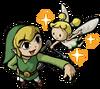 Link et fée TWW