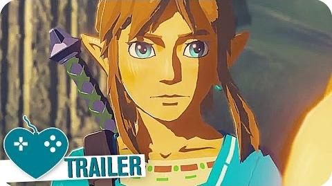 THE LEGEND OF ZELDA BREATH OF THE WILD Trailer German Deutsch (2017) Nintendo Switch Event
