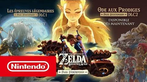The Legend of Zelda Breath of the Wild - Bande-annonce DLC 1 & 2